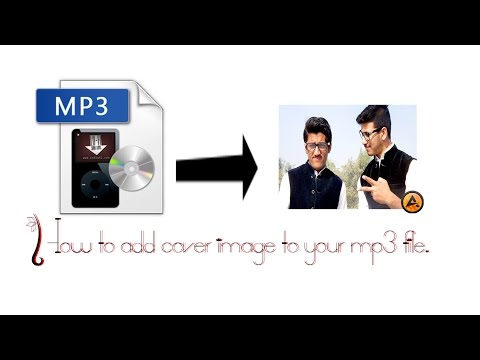 How To Add Cover Image To Your Mp3 File