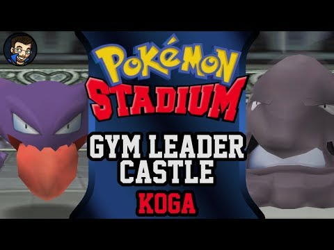 Pokémon Stadium - Gym Leader Castle | Koga |