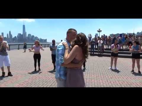Mallory and Chris's Proposal Flash Mob in Hoboken