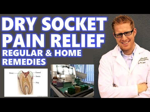 Dry Socket Treatment: Home Remedies Relief Pain After Tooth Extraction Wisdom Teeth Symptoms My Why