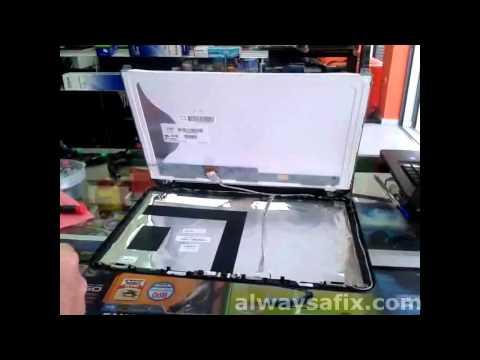 Laptop white screen repair HP G6