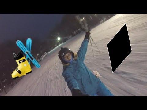 BLACK DIAMOND Skiing + In The Dark