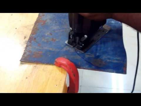 JIGSAW for metal cutting
