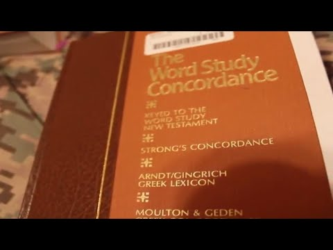 (Book Gone Now) Hebrew Greek Keyword Study Bible and Strong's Concordance Help - Nov 1st 2017