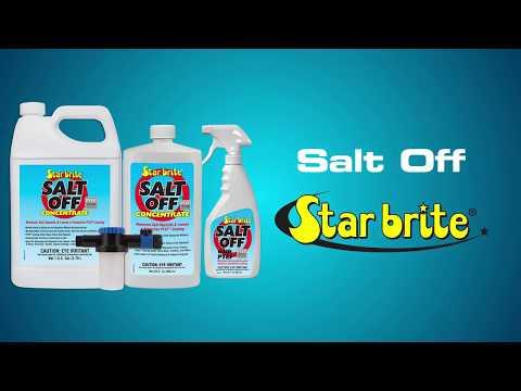 Star brite Salt Off - Salt Remover + Outboard Engine Flush - 939
