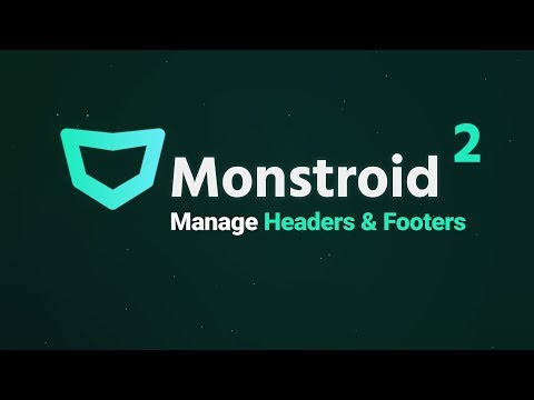 Monstroid 2 Headers & Footers - Everything You Need to Know