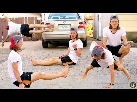 How many exercises can you do on your driveway? [CALISTHENICS]