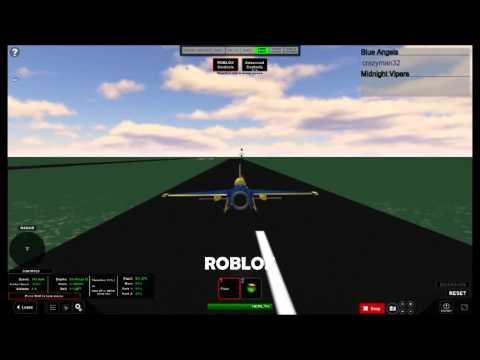 ROBLOX: Realistic Plane