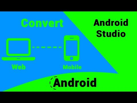 Convert a Website into Android App using Android Studio, must watch for web developer