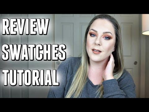 WORTH BUYING?! URBAN DECAY NAKED HEAT PALETTE | Review + Eye Swatches + Tutorial |  MakeupbyMegB