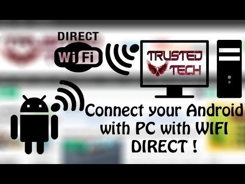 Connect Android with Computer Via Wifi Direct