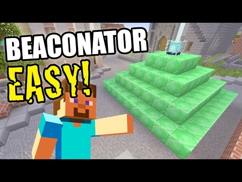 Beaconator Achievement Trophy Guide Minecraft