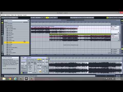 Como hacer un mix en Ableton Live 8