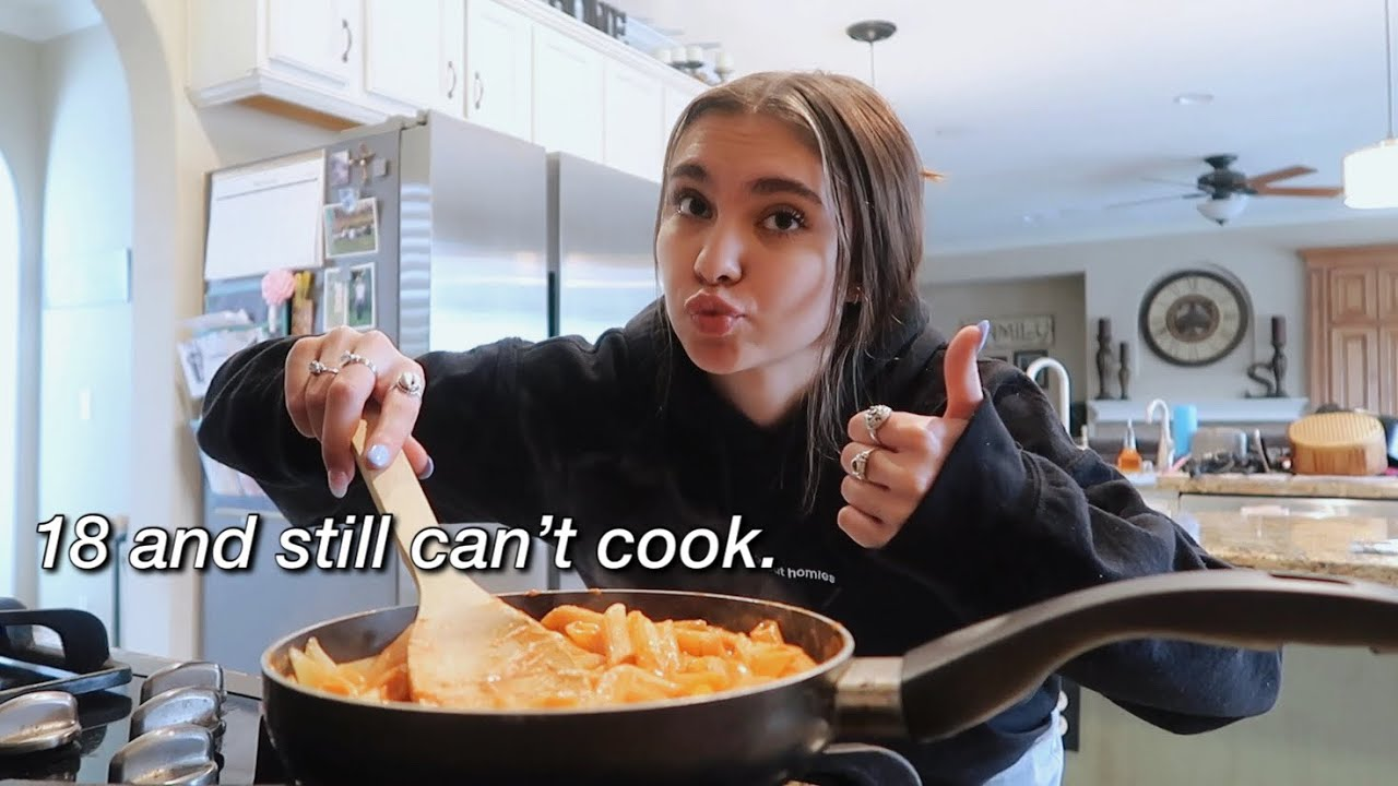 learning to cook basic things before i leave for college