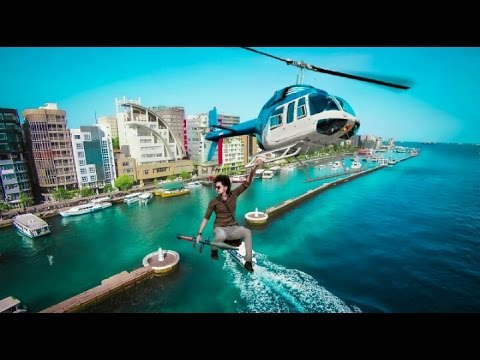 5K subscribers special | How to make action movie poster | helicopter scene