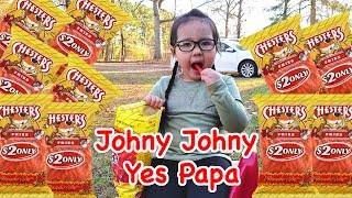 Johny Johny Yes Papa With Chesters Fries for Kids