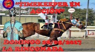 """""""TIMEKEEPER EN ACCIÓN"""" DOMINGO 28 de MAYO LA RINCONADA"""
