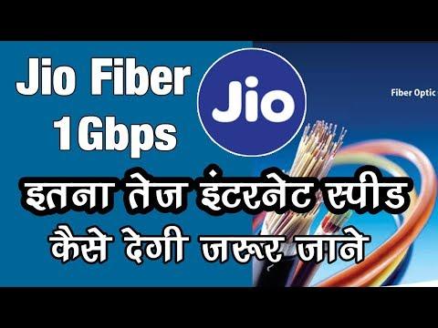 JioFiber Gbps Internet Speed | How Fiber Optics Works ?