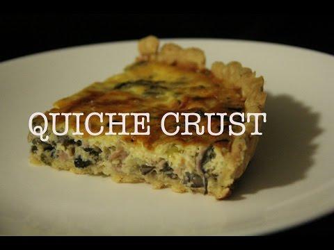 Quiche Crust | How to make quiche crust