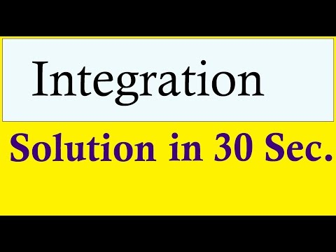 Integration Formulas & Shortcuts : Class 12 NCERT CBSE SOLUTIONS