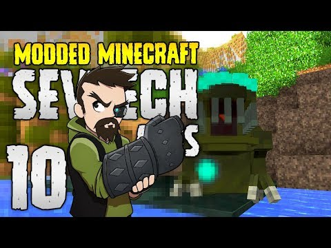 Minecraft SevTech: Ages | 10 | Most DISGUSTING Mob in Minecraft?! | Modded Minecraft 1.12.2