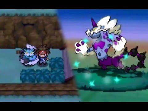 Pokémon Black 2 / White 2: Legendary Thundurus (Therian & Shiny) Encounter (Hack)