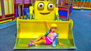 Indoor Playground for kids with toys Paw Patrol Baby Playtime Family Fun Play Area video for Kids