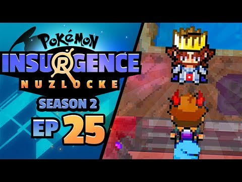 THIS GUYS KNOWS ALL THE SECRETS... WHO IS HE?! - Pokémon Insurgence Nuzlocke (Episode 25)