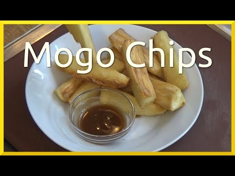How to Cook Mogo Chips | Maggi Tamarind Sauce Review