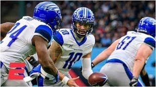 St. Louis BattleHawks vs. Dallas Renegades | Week 1 | 2020 XFL Highlights