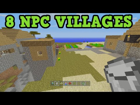 Minecraft *8 VILLAGES* Xbox 360 / PS3 Seed W/ 3 Temples