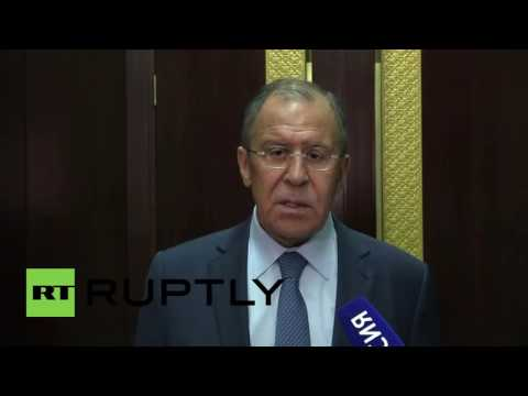 Laos: Lavrov calls for new round of negotiations on Syria