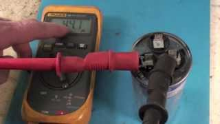 Troubleshoot The Air Conditioning Dual Capacitor