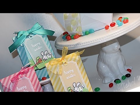 Easter treat bags and decor DIY