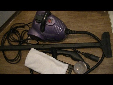 Steam Cleaner Review and Demo! #steamcleaner
