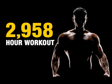 Workout to Build Muscle Mass (2,958 HOURS LONG!!)