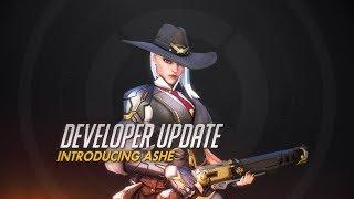 Developer Update   Introducing Ashe   Overwatch