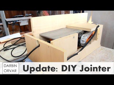 DIY Jointer - Shop Update November 2015