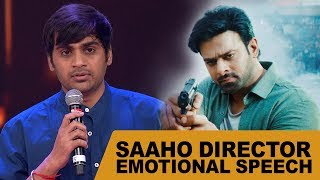 Saaho Director Sujeeth Gets Emotional About His Achievement