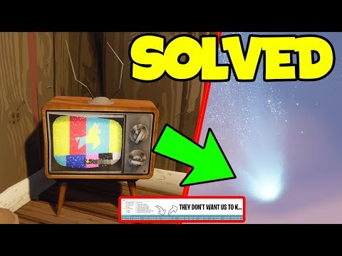 *NEW* Fortnite Battle Royale: Llama Tv WARNING'S Decoded With FULL MEANING! | (Morse Code Solved)