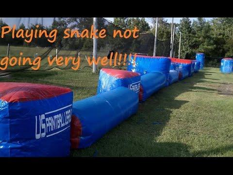 TC Paintball Geo 3 playing Snake