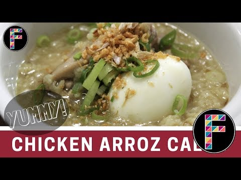 Chicken Arrozcaldo l Hot Chicken Rice Bowl For Beginners ( Fiaree #7)