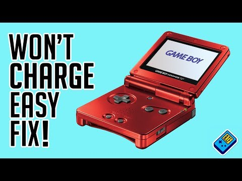 Game Boy SP No Charge easy Fix.