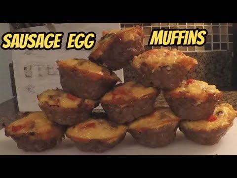 Sausage Egg Muffins   Breakfast Meal Prep