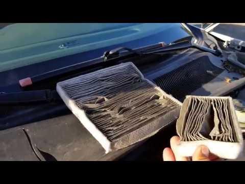 2000-2005 Buick LeSabre:  Replacing the cabin air filter