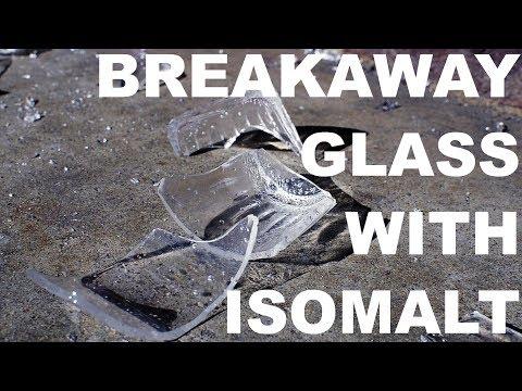 Breakaway Glass with Isomalt