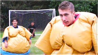 SUMO PENALTY SHOOTOUT CHALLENGE!!