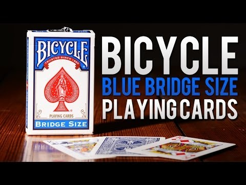 Deck Review - Bicycle Bridge Blue Size Playing Cards