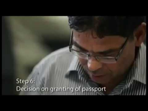 From the First Step- Procedure in getting the Passport at Passport Seva Kendra.