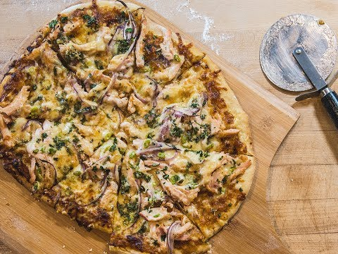 BBQ Chicken Pizza Recipe | Traeger Wood Fired Grills